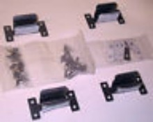 69-84 FLH Shovelhead SADDLEBAG LOWER MOUNT CLIP KIT