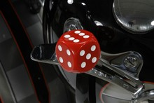 DICE HANDSHIFT KNOB Red White or Black